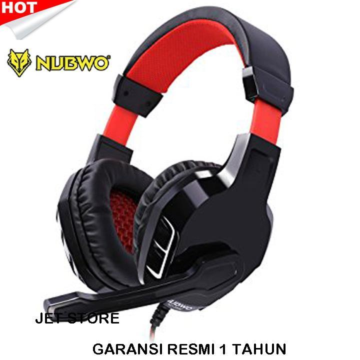 Nubwo No-3000 Stereo Gaming Headset Gamer Headphone With Microphone For Pc Computer/ps4/new Xbox One/laptop By Jet Store.