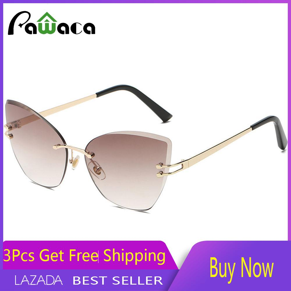Kacamata Wanita Pawaca Fashion Men Woman Polygons Personality Small Box Sunglasses Ocean Simply Style Sunglasses By Pawaca.