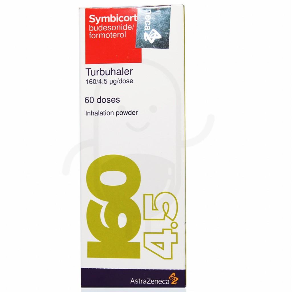 Symbicort 60 Doses 160/4.5 mg (ED 2021)