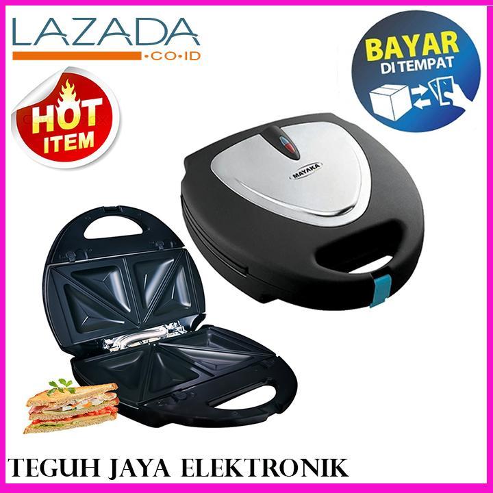 MAYAKA SM-8803YZ Sandwich Toaster/Pemanggang Roti Kelas Premium