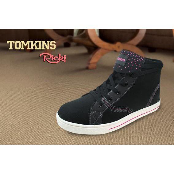 Sepatu Tomkins - Ricki - Black Pink - b1ac771fc5