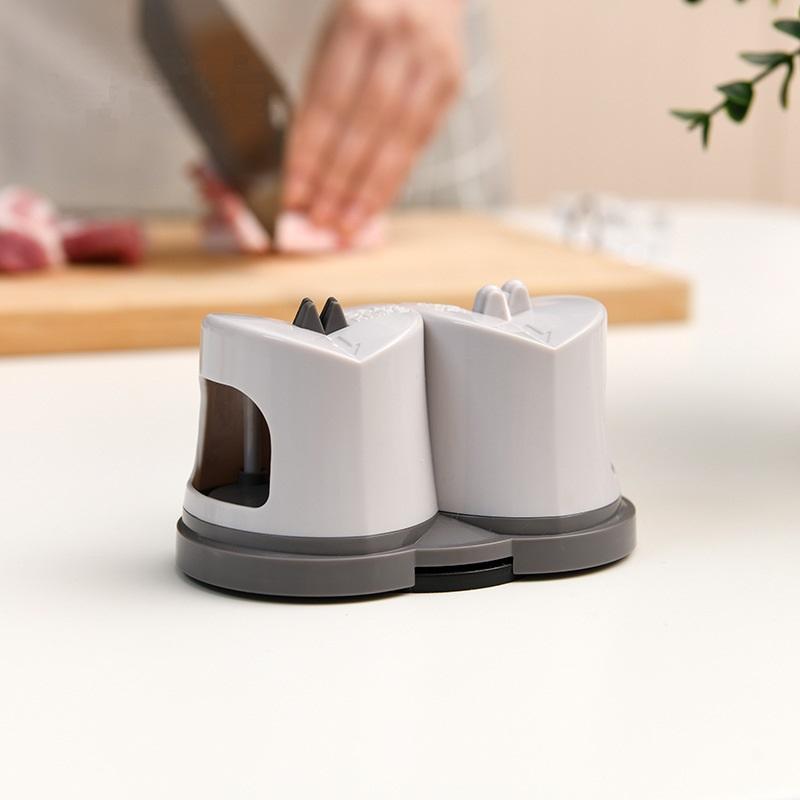 Household Tungsten Steel Sharpener Ceramic Whetstone Kitchen Gadget Kitchen Knife Sharpener By Keysmico.