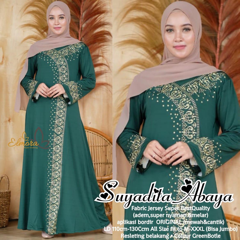Sayadita Abaya Jersey Super HQ Baju muslim syari terbaru 8 toko baju  muslim di solomodel long dress untuk orang gemuk model kebaya dress