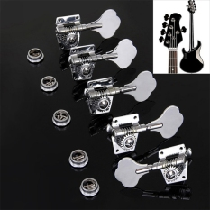 1pc Vintage Jazz Precision Bass Tuning Pegs Open Geared Bass Tuners Machine Head Bass Replacement Bass Accessories(Left)