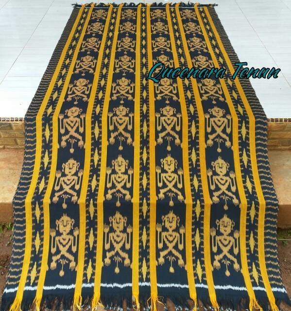 Kain Tenun Ethnik Blanket 100% Original Handmade Jepara. Real Pict Blk037 By Queen Kain Tenun.