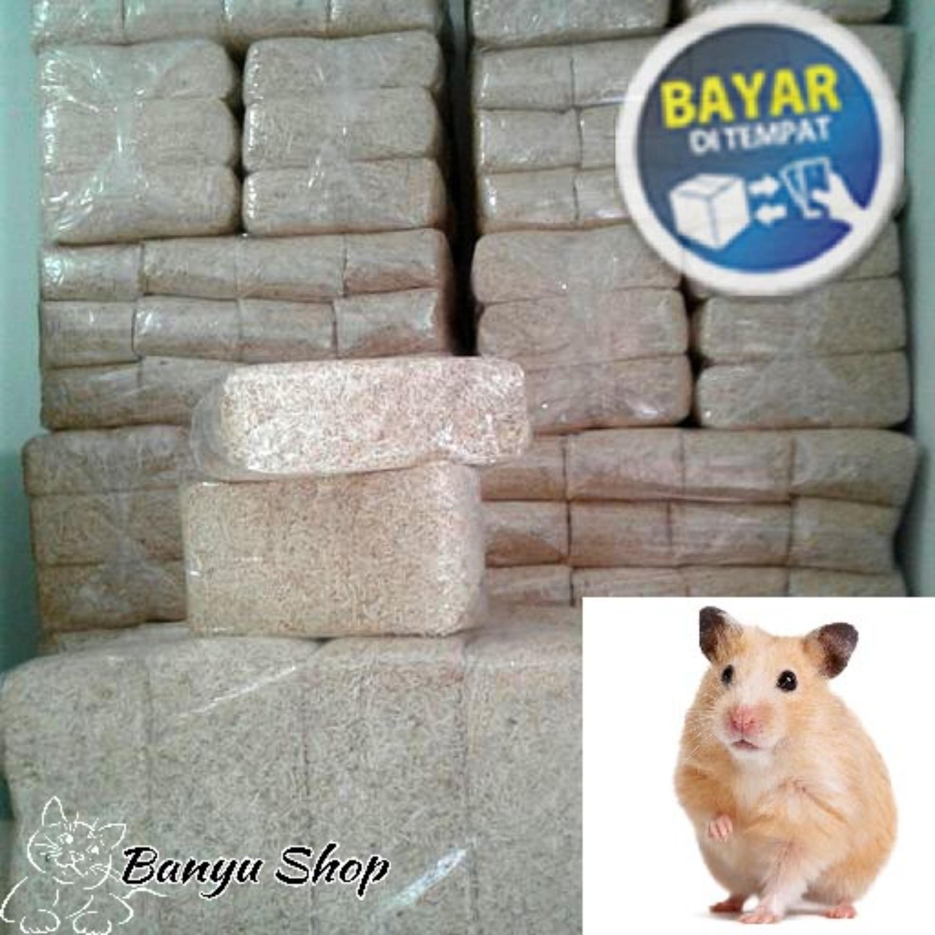 Serbuk Kayu kandang hamster 320gram(Alas/Beeding Untuk Hamster- Landak Mini- Sugar