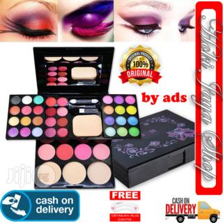 HOKI COD - ORIGINAL ADS BESAR Makeup Pallete Eyeshadow Pallette Palette Palet Make Up Set Make Up Kit Makeup Kit Make-Up Kit Lengkap Komplit Lipstik Bedak Powder Fashion Colours 42 warna bioaqua bb refill cushion - 1 SET + Gratis CEtak Alis thumbnail