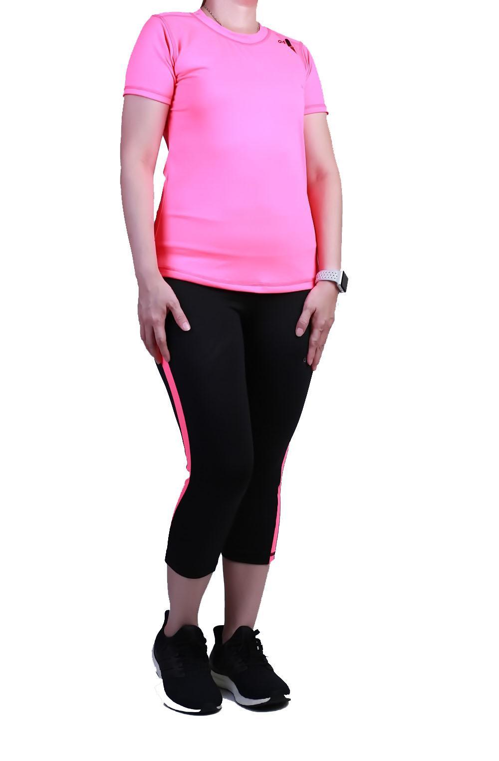 Ronaco Set Baju dan Celana Senam Wanita SBS1 - PINK All Size