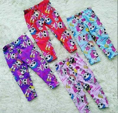 Celana Legging Anak Perempuan Motif Lol Trend Terkini By Dsp86.