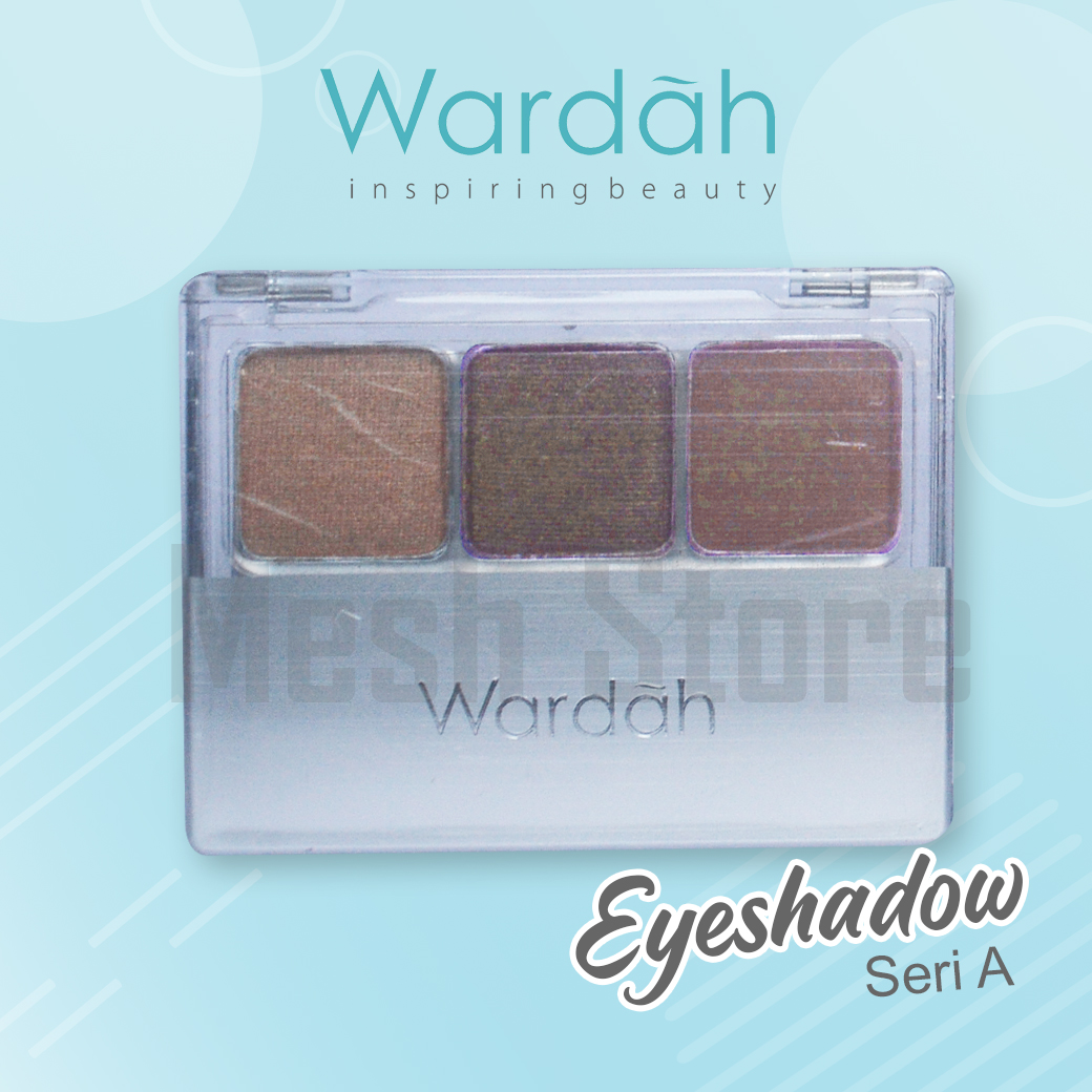 Wardah EyeShadow Seri - A