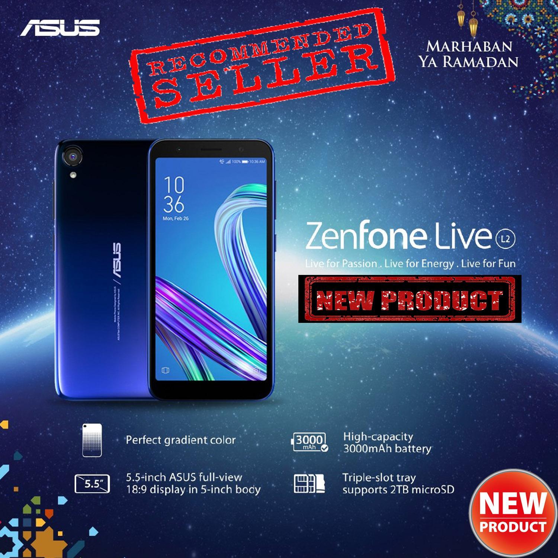 Asus Zenfone Live L2 ZA550KL 2/16GB Garansi Resmi