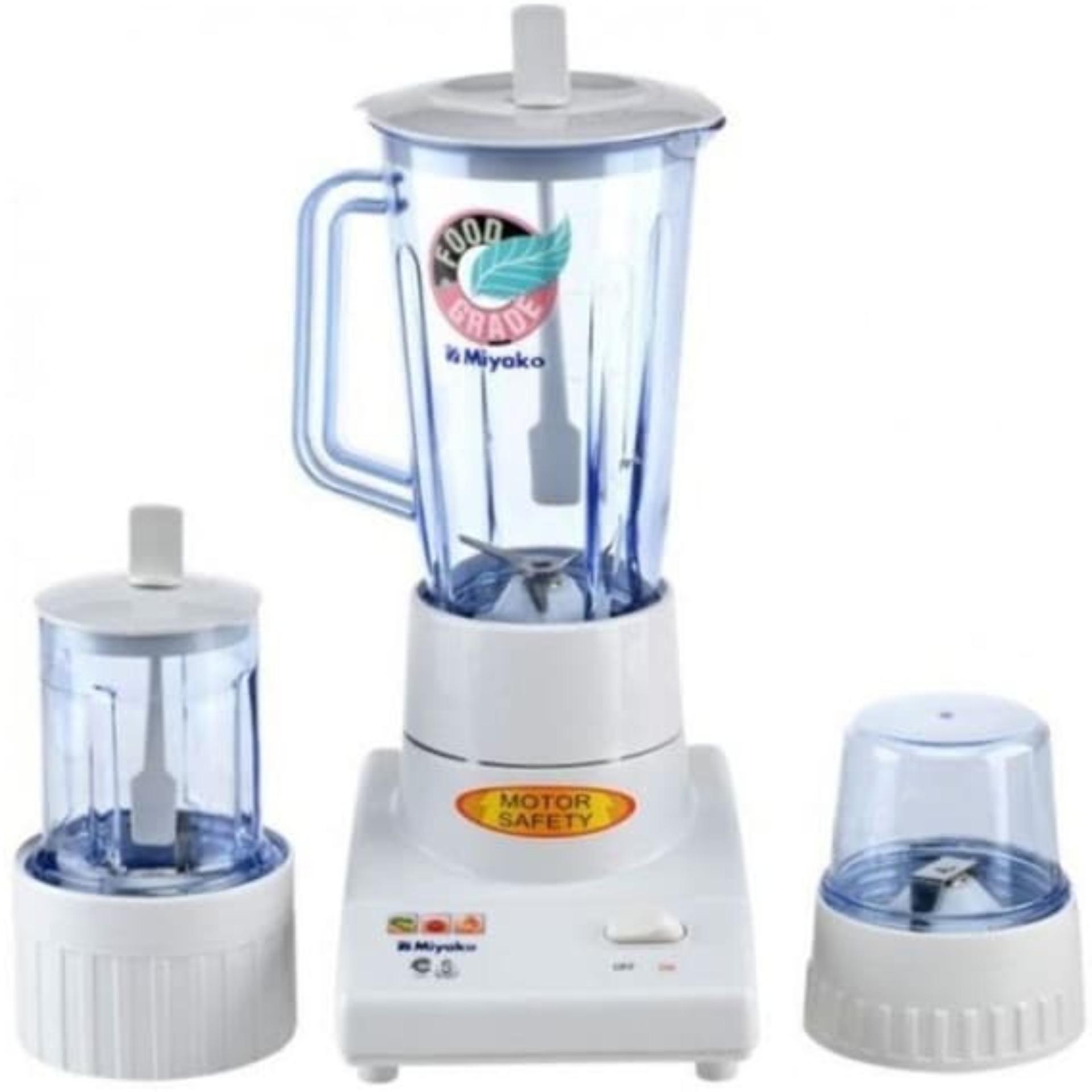 Miyako Blender Plastik 3 in 1 - BL102PL - GRATIS ONGKIR Jabodetabek