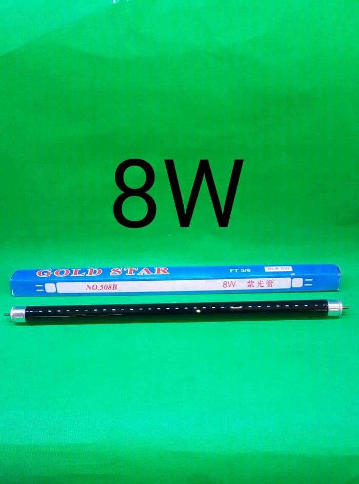 Refill Lampu Money Detector Uv Tl T5 8w Uang Palsu Neon Detektor Lamp By Nine7store.