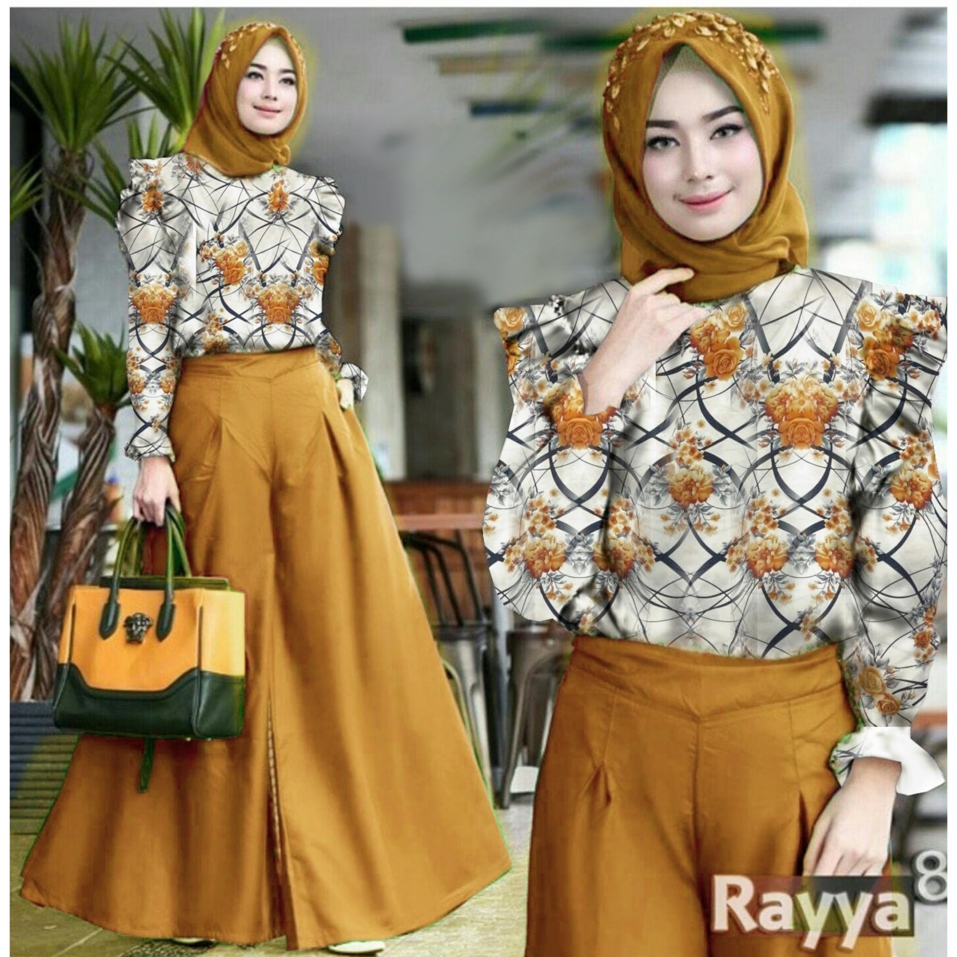 Baju Set Kulot Rayya   / Inner / Maxy Pinggang / Baju Wanita / Blouse Korea / Atasan Wanita / Baju