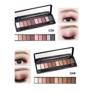 NOVO Palet Eyeshadow 10 Warna Matte Glitter 5077 thumbnail