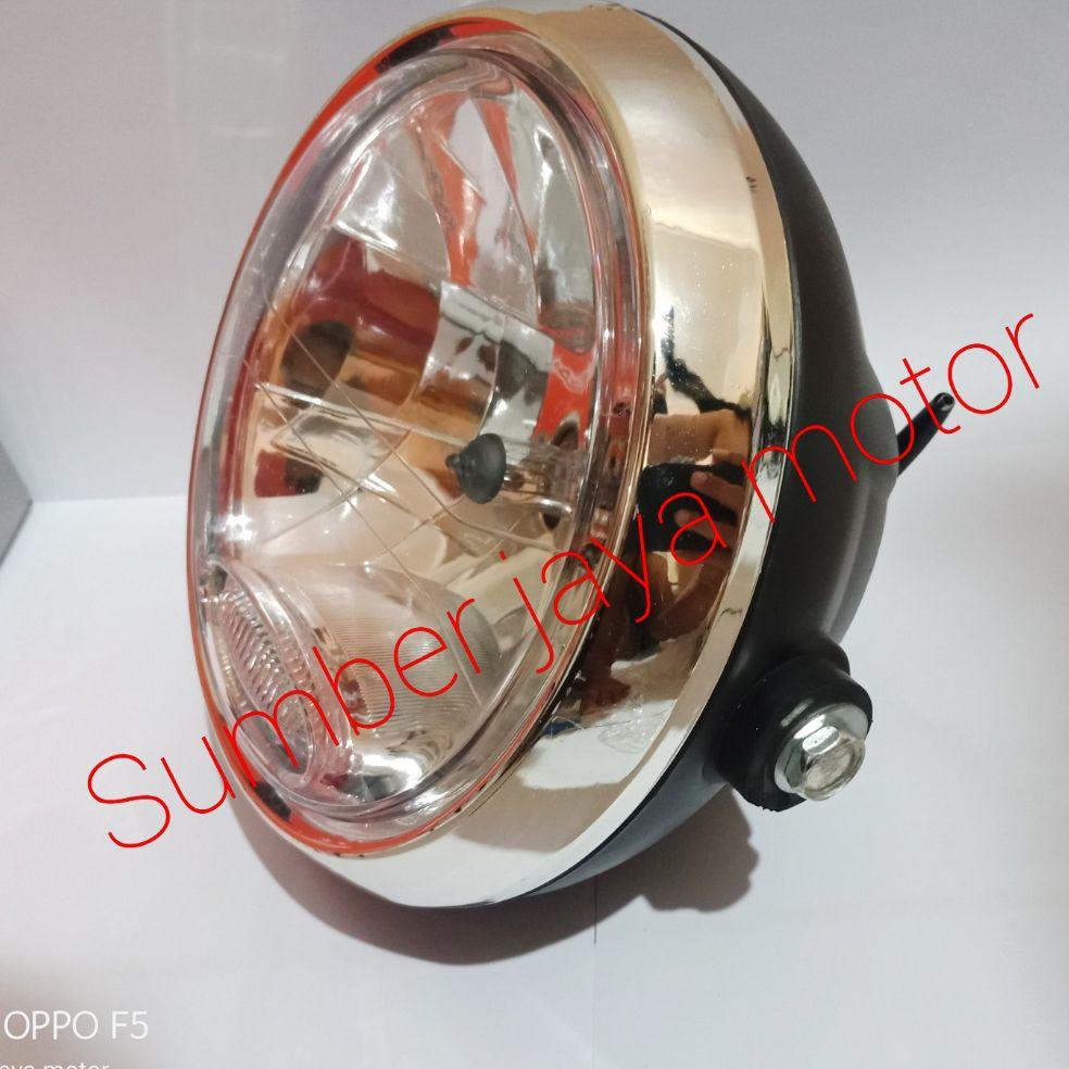 lampu depan rx king new 2008 bulat dan vixion lama