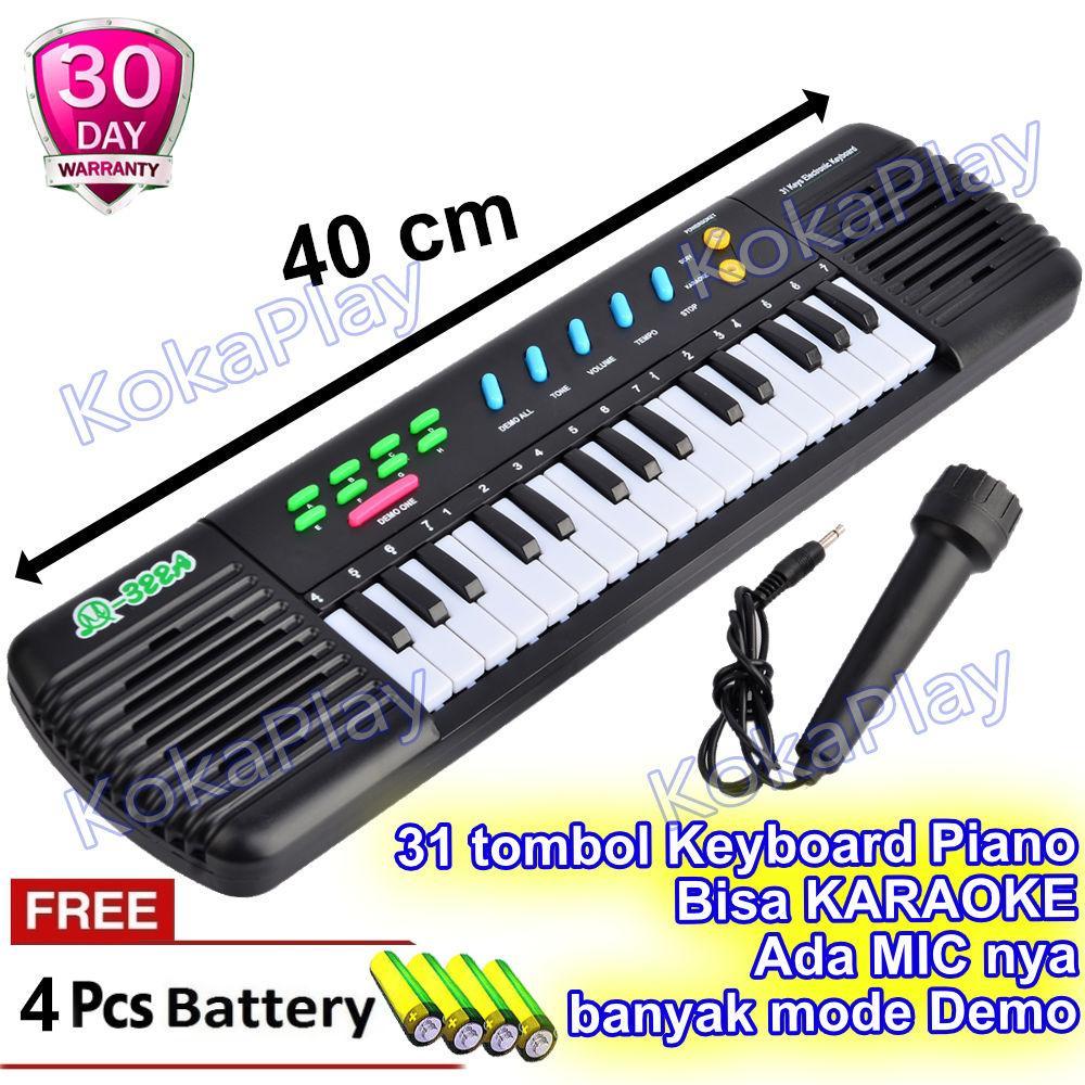 Kokaplay Mainan Electronic Organ Piano Mini Electronic Keyboard M322a Mainan Anak Laki Laki Mainan Anak Perempuan Disco Karaoke Free 4 Baterai By Kokaplay.