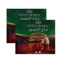 Harga Date Crown Kurma Arab Paket 2 Kg 2 Kotak Date Crown Jawa Barat