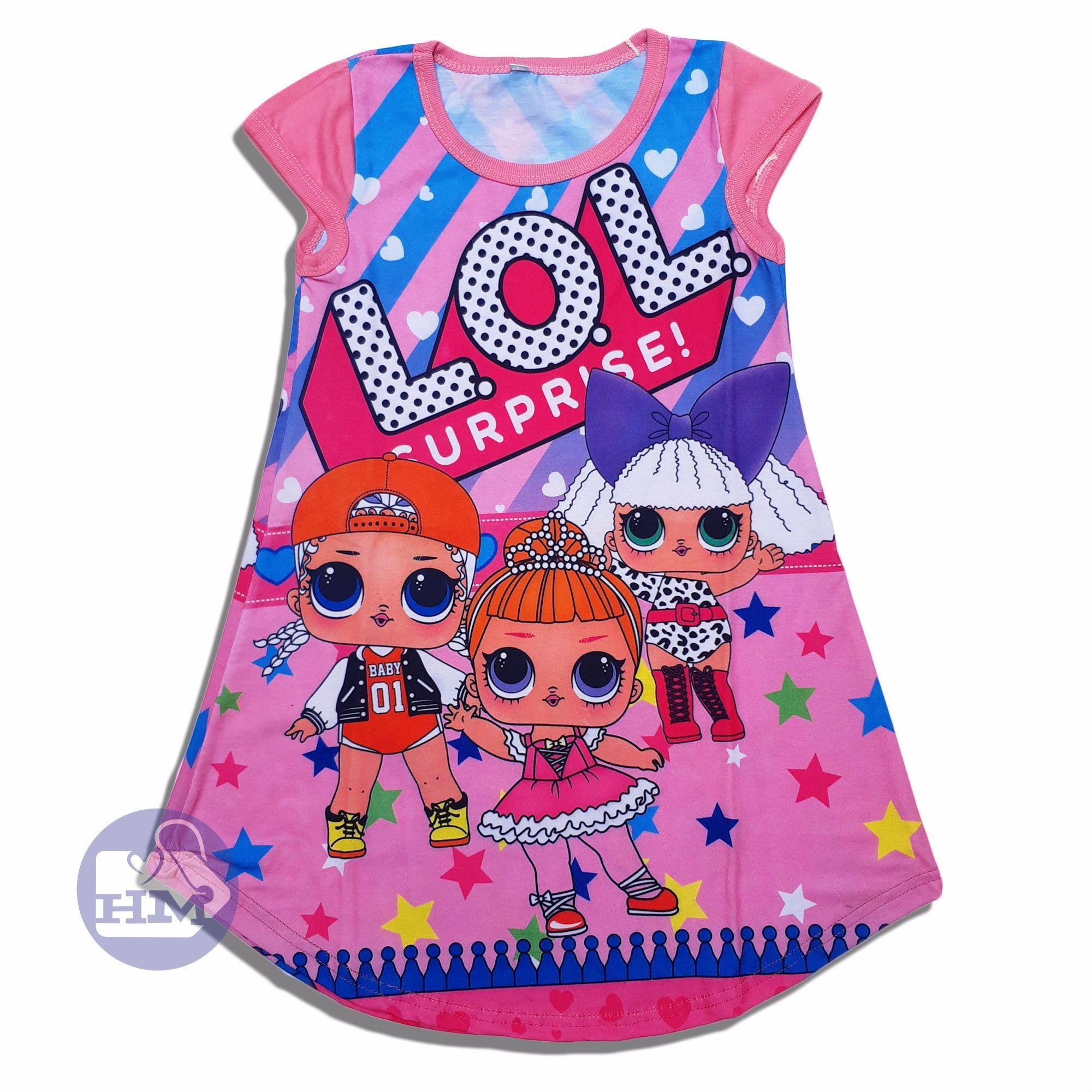 HM Baju Dress Anak Perempuan LOL surprise dress lol