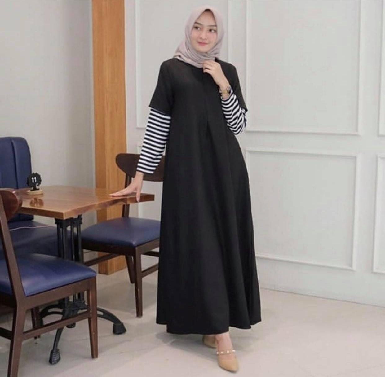 Labelledesign MAXI SABYAN Syari SyfaRose New - 20 warna Maxi / Busana / Dress / Baju