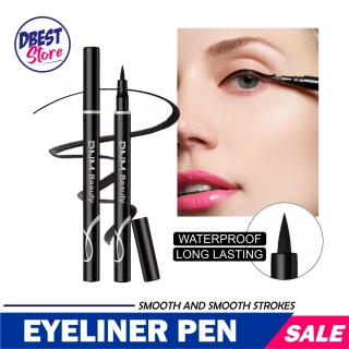 Kosmetik Makeup Pensil Eyeliner - Pensil Pena Awet Tahan Lama Waterproof Anti Air - MakeUp Eyeliner Black Waterproof - Dnm Pen Eyeliner Spidol Waterproof Long Lasting 24HOUR - Tahan Air Dan Keringatan thumbnail