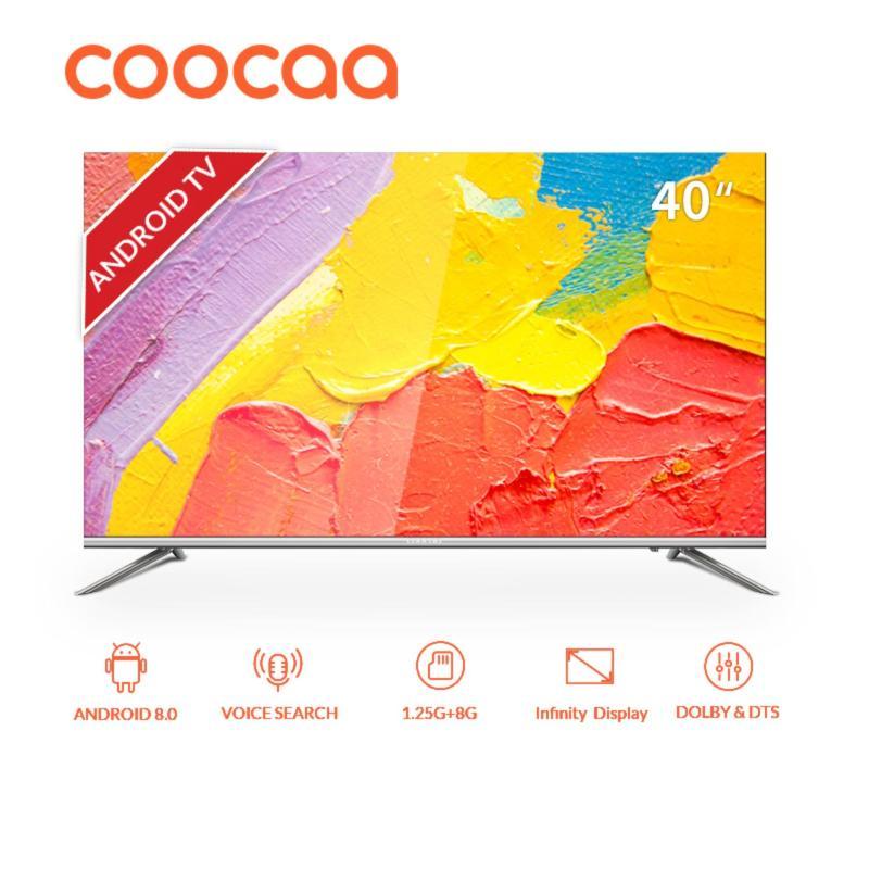 [Pre-Order, Mulai Dikirim 16 Nov 2019] COOCAA LED TV 40 inch Android Smart TV - Wifi - Full HD - Slim - Infinity View (Model : 40S5G) [GRATIS ONGKIR]