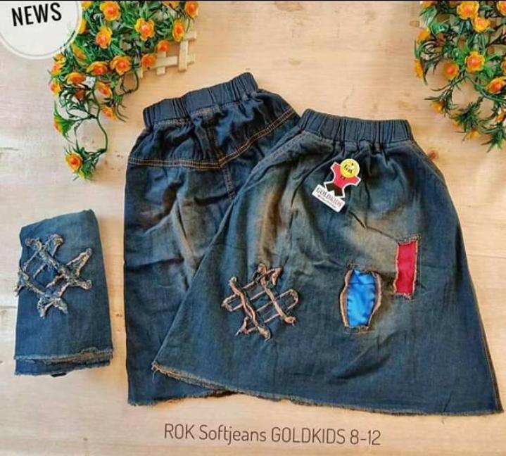 Aly Rok Jeans Anak Uk. 3-8 Tahun By Aliyyustore.