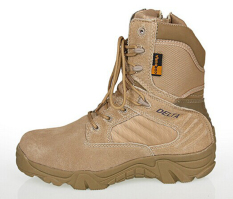 Jual Dbest Kudastore Sepatu Boot Hiking Delta High 8Inch Quality Outdoor Warna Gurun Branded Murah