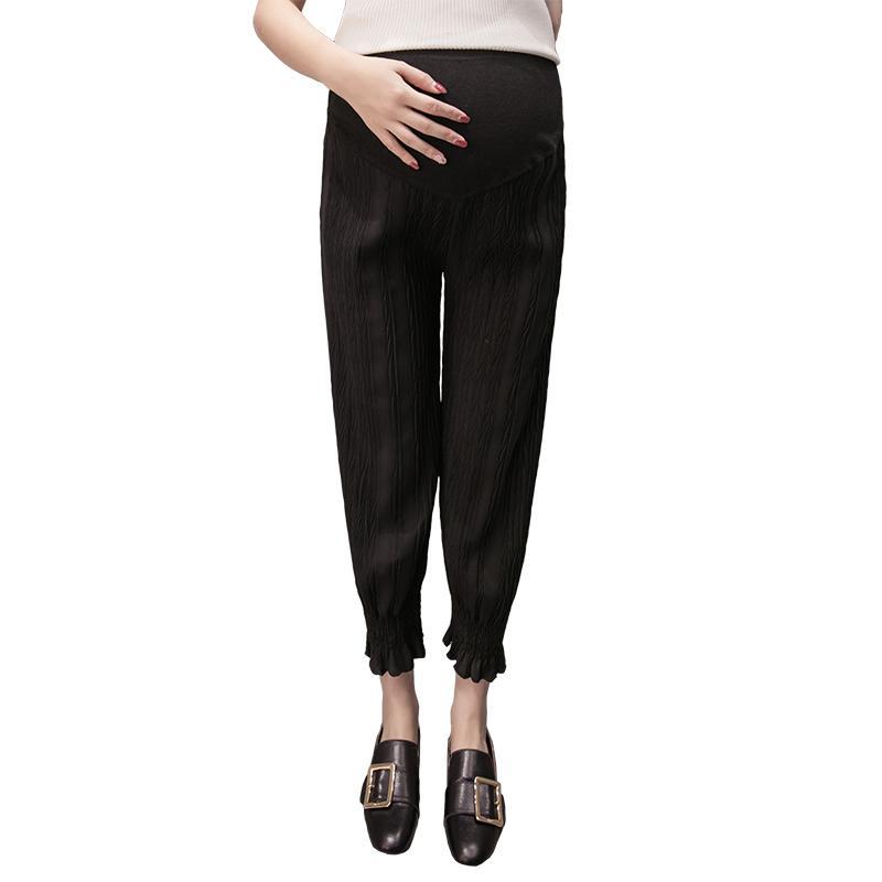 Ibu hamil Celana 2018 model baru pakaian musim panas model tipis pakaian  luar Celana kulot celana 5158abdd84