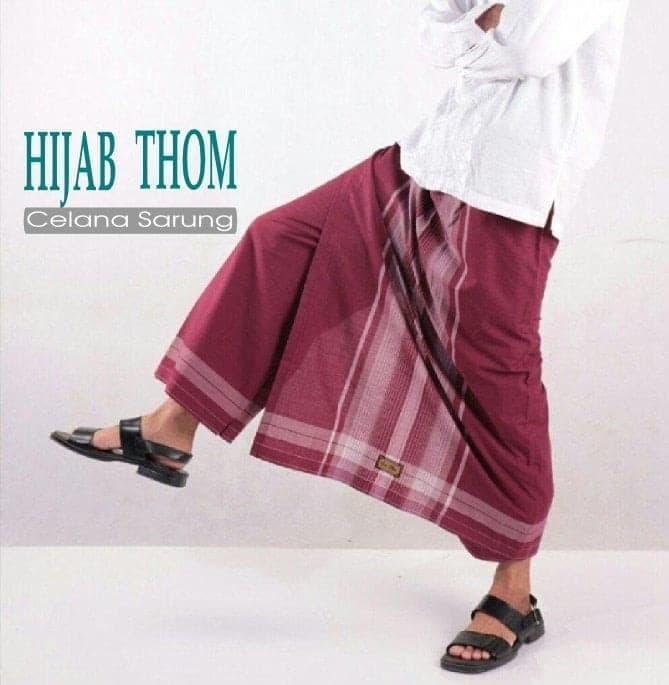 Terlaris  Sarung Celana Uje Bin Affan Pria Dewasa Muslim Celana Sarung