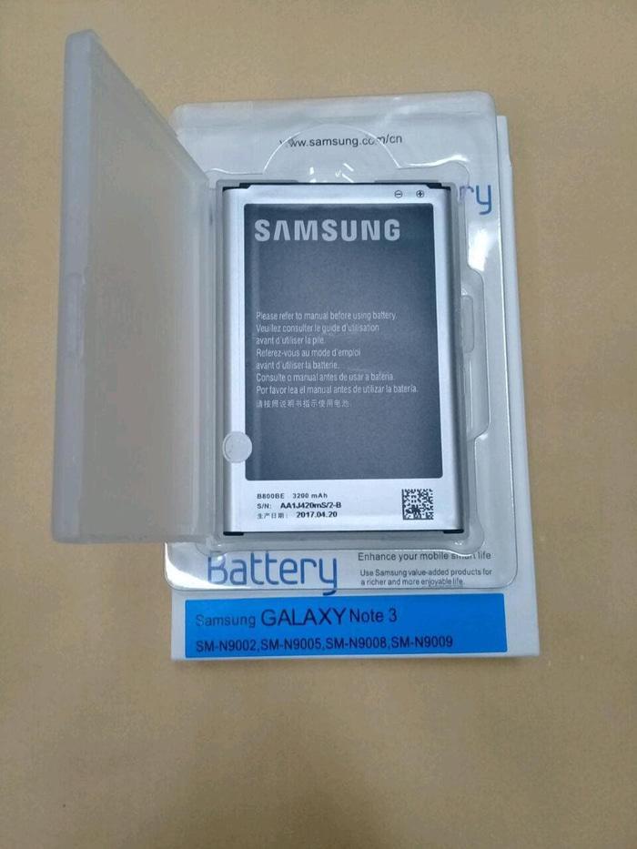 Baterai Original Samsung Galaxy Note 3 / NFC / battrey / batrai hp