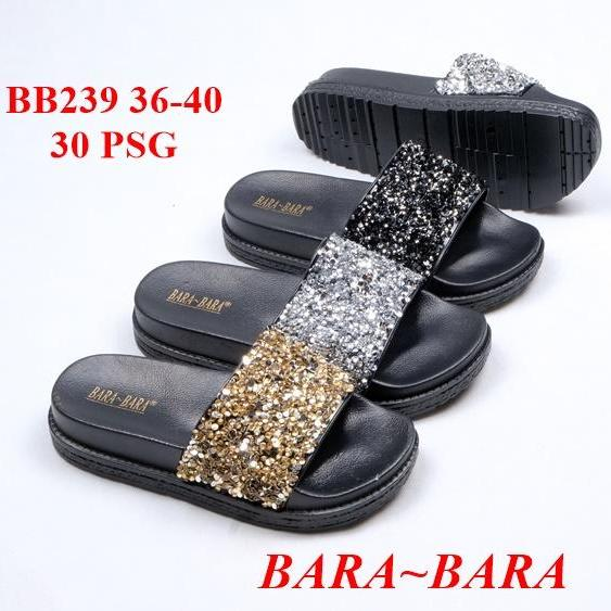 ... Sandal Selop Jelly Wanita Motif Bunga - Bara 938 Warna Dikirim RandomIDR59500. Rp 59.500