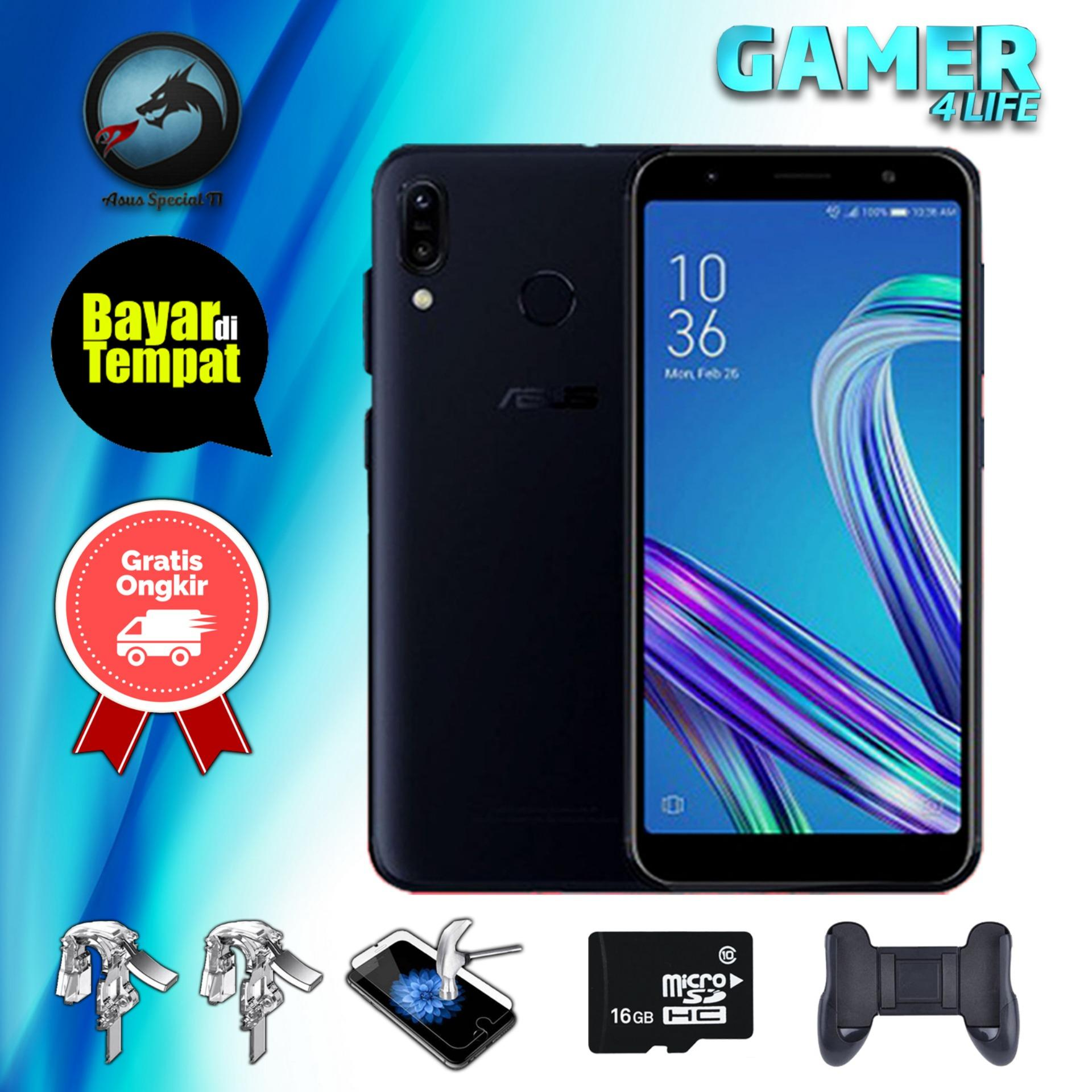Asus Zenfone Max Pro M1 ZB602KL 3/32 Snapdragon 636 5000mAh Resmi + Packet Special Gaming S2