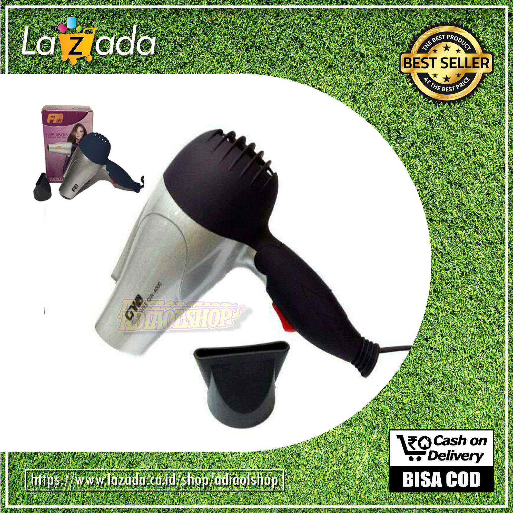 Bisa Cod - Ready Stock Hairdryer Lipat Gw-4000 - Random By Adiaolshop.