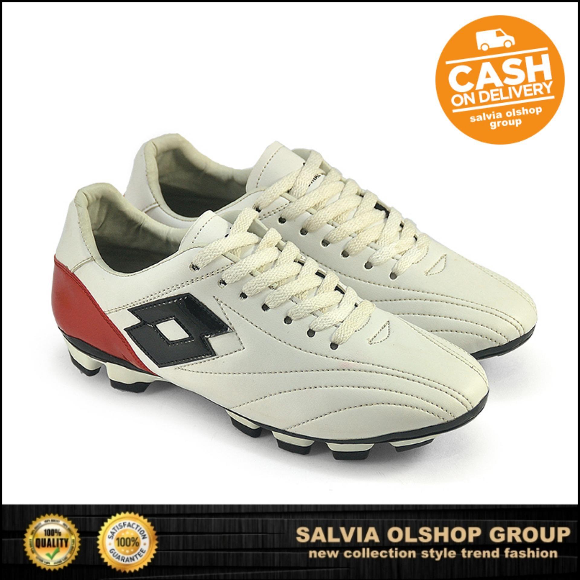 Sepatu Sepak Bola Model Terbaru Java Seven S 116 - Sintetis - Putih 971173ecfb