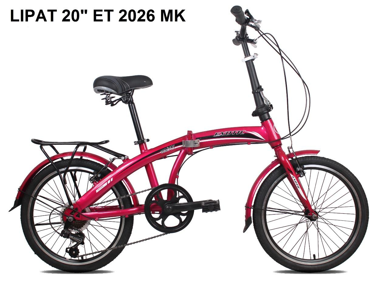 Sepeda Lipat 20 Inch Exotic 2026 Mk By Binaraga Net.
