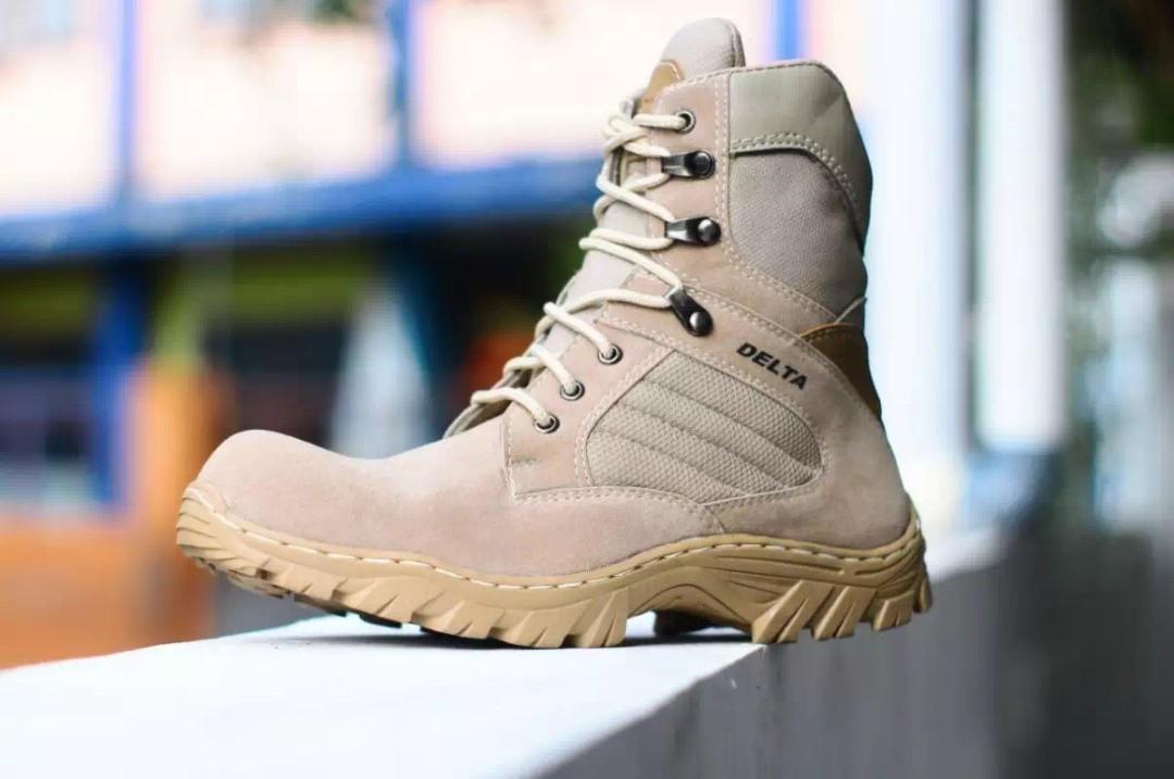 sepatu delta boot pria safety resleting 8 inchi  adventure e84e1a4416