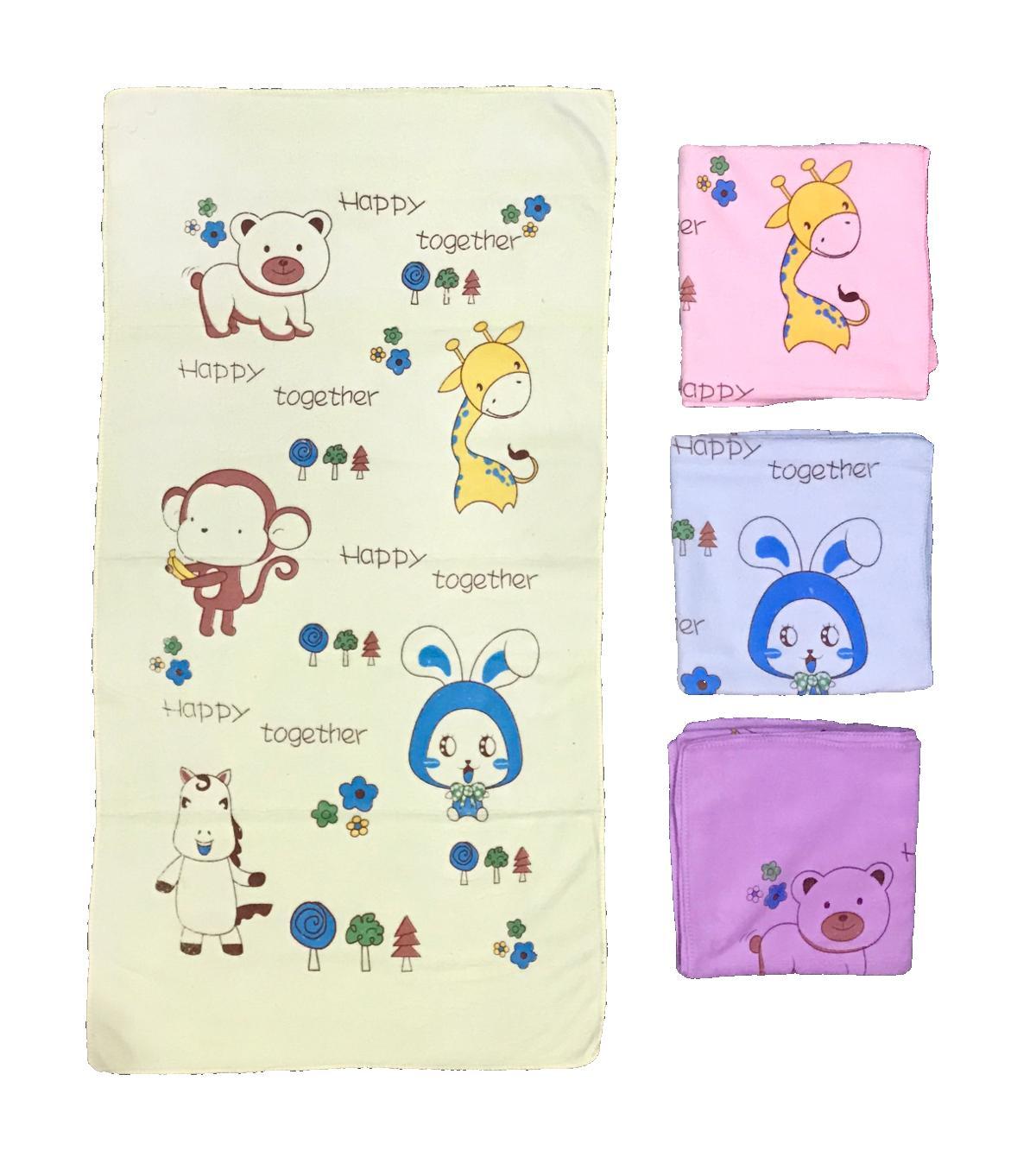 Bayie - Handuk Bayi Dan Anak Ukuran 100 X 50 Cm Motif Lucu Premium Quality/baby Towel/handuk Mandi Bayi By Bayie.