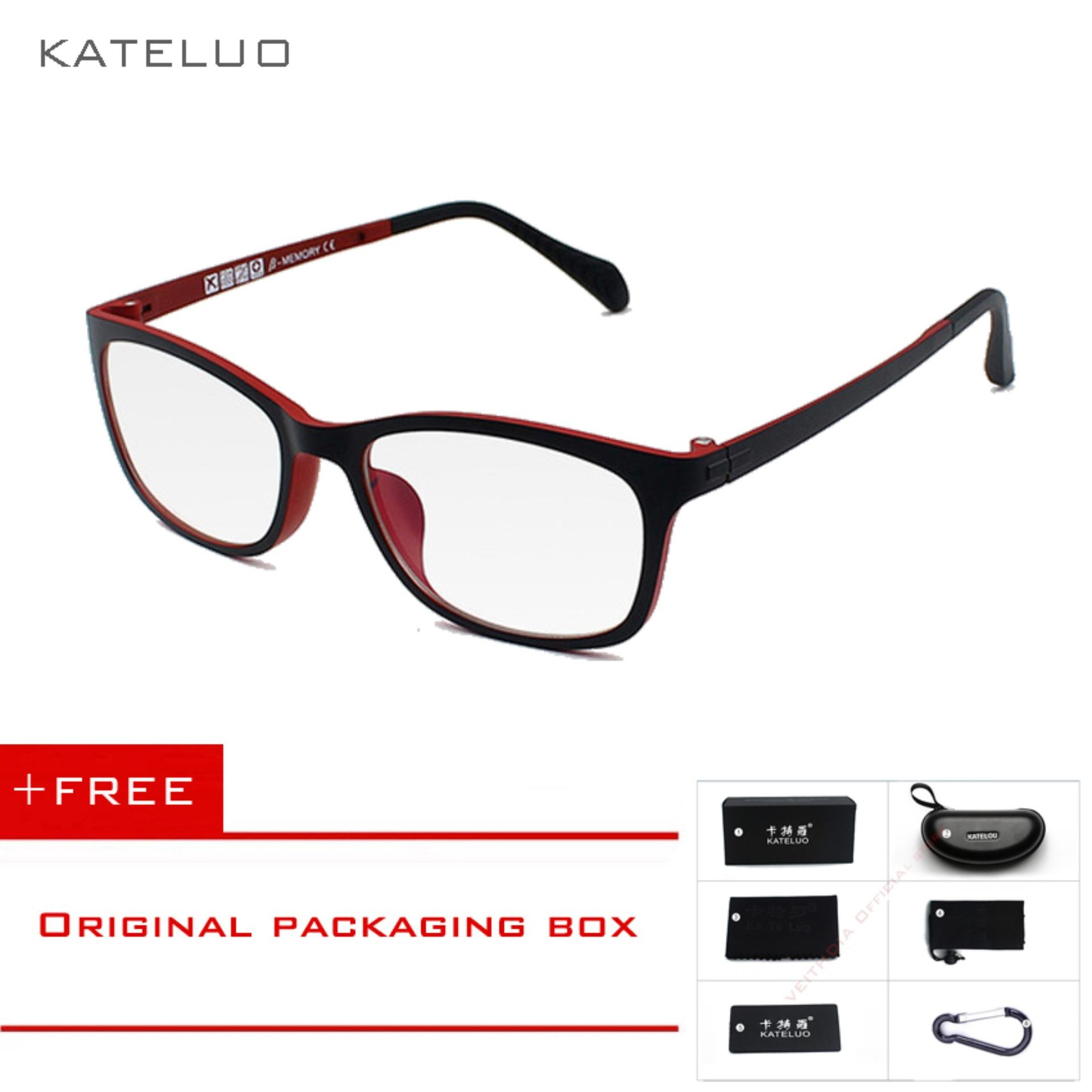 2f5464090 KATELUO Tungsten Kacamata Komputer Anti Laser Kelelahan Radiasi-tahan  Kacamata Bingkai Kacamata Kacamata 13031
