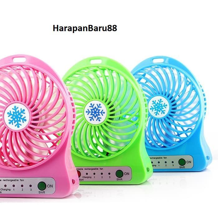 ''HarapanBaru88'' Kipas Angin Mini Portable / Mini USB FAN / Kipas Mini · ''