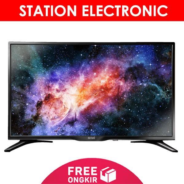 AKARI Smart Digital HD LED TV 32 Inch - 32V99SM - Hitam - Khusus JABODETABEK