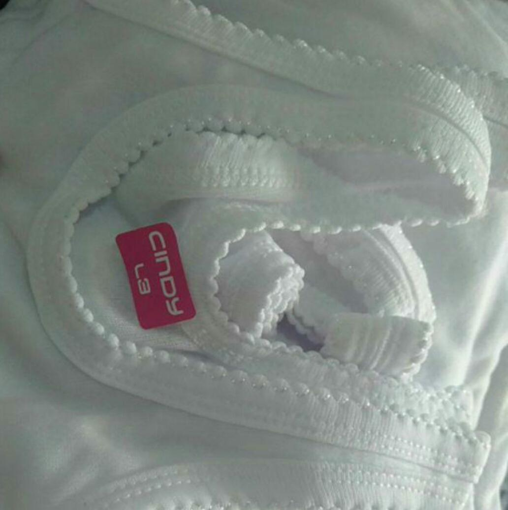 12pcs Kaos Dalam Anak / Singlet Anak Putih Polos (1lusin) By Kk Shop--.