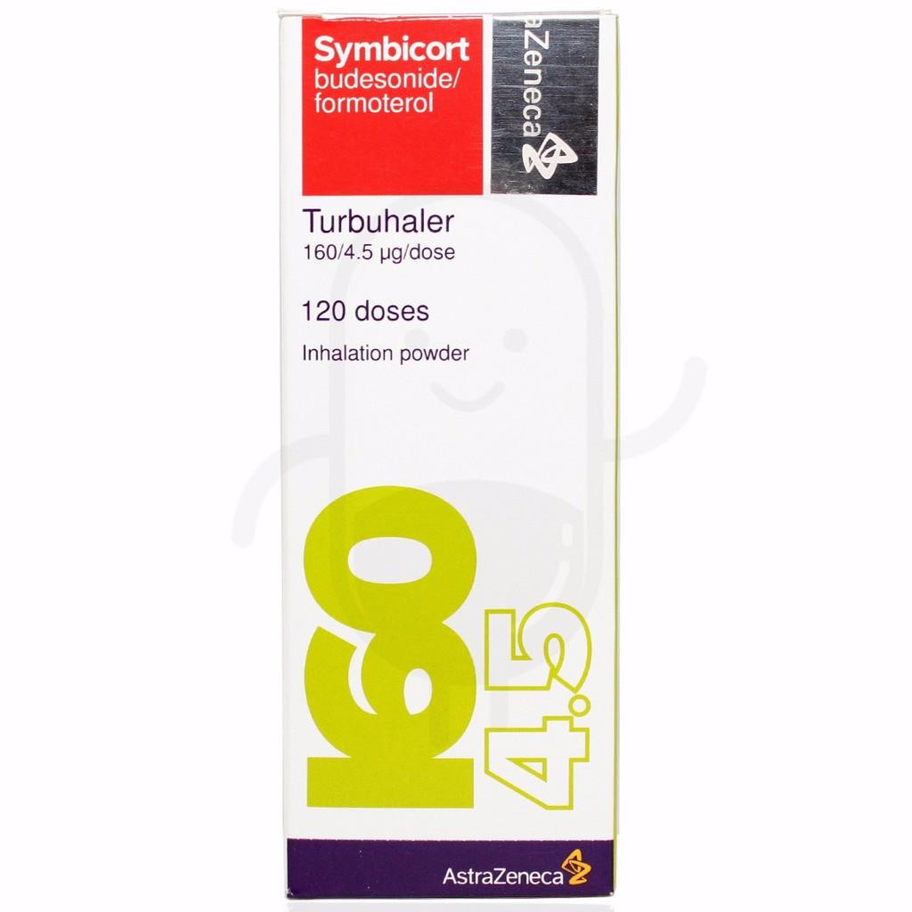 Symbicort 120 Doses 160/4.5 mcg (ED 2021)