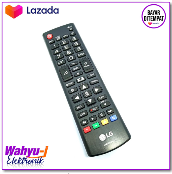LG Remote LCD/LED TV - Hitam