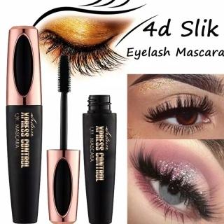 4D Silk Fiber Lash Mascara 4D Silk Fiber eyelash Mascara Mascara Untuk Memanjangkan Bulu Mata Mascara Untuk Menebalkan Bulumata thumbnail