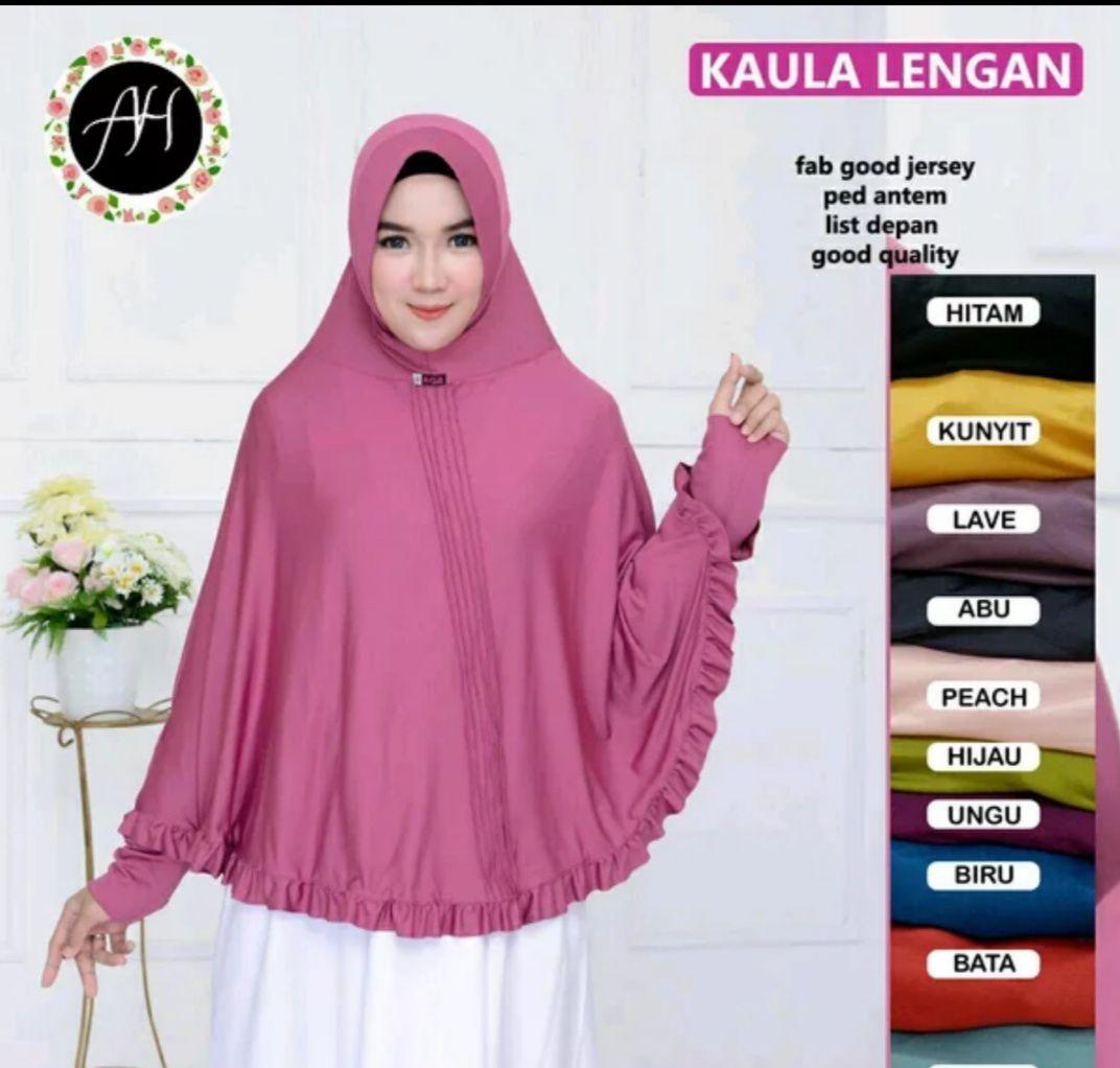 Hijab jumbo lengan,hijab modern,hijab polos.HJU zulkar89fashion