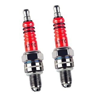 Flameer 2X 3 Spark Plug A7tc Cho 50 110 125 150cc Xe Đạp Địa Hình Atv thumbnail