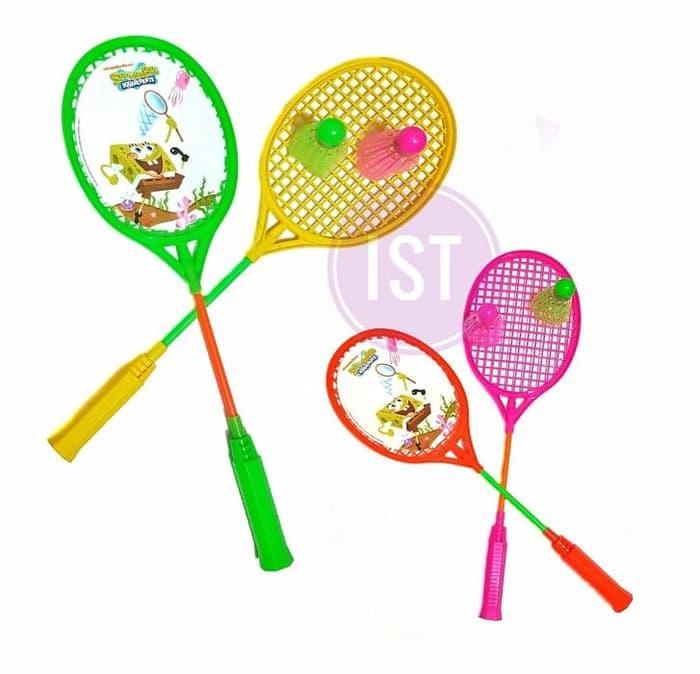 Mainan Raket Badminton SpongeBob No.RKC 04001-1