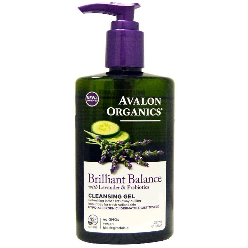 Avalon Organics Brilliant Balance Cleansing Gel 237ml