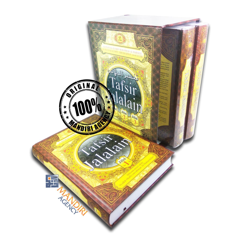 Tafsir Jalalain Lengkap 3 Jilid + BOX - Elba